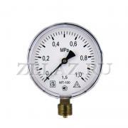 Манометр МТ-100 1 МПа (10 bar)- 100-1,5-М20х1,5 - фото
