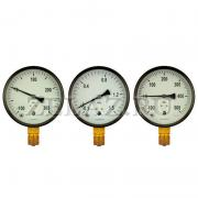 Мановакуумметр  100мм -0,1...0...0,9 МПа (-1...0...9 бар); М20х1,5; - ОСНОВА М.3 - фото