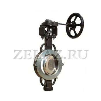 Затворы поворотные с тройным эксцентриком 3Е ABO valve - фото